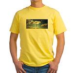 Somewhere, over the rainbow.. Yellow T-Shirt