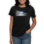 Somewhere, over the rainbow.. Women's Dark T-Shirt