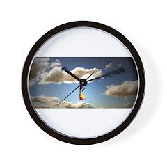 Somewhere, over the rainbow.. Wall Clock