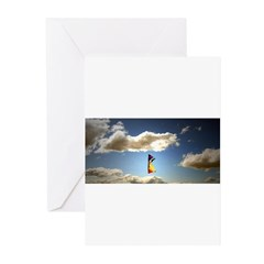 Somewhere, over the rainbow.. Greeting Cards (Pk o