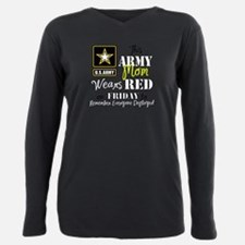 Unique Army family Plus Size Long Sleeve Tee