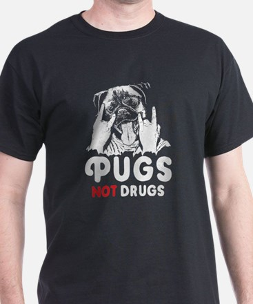 Pugs Not Drugs T-Shirt