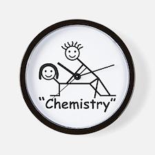 """Chemistry"" Wall Clock"