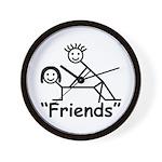 """""""Friends"""" Wall Clock"""