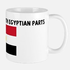 MADE IN AMERICA WITH EGYPTIAN Small Small Mug
