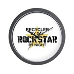 Recycler Rock Star Wall Clock