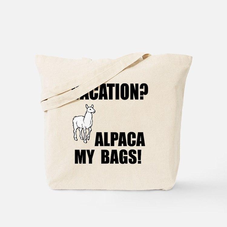 Alpaca My Bags! Tote Bag