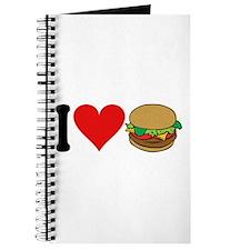 I Love Hamburgers (design) Journal