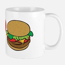 I Love Hamburgers (design) Mug