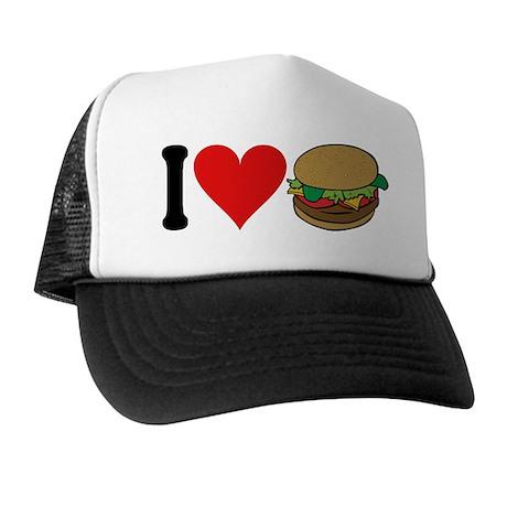 I Love Hamburgers (design) Trucker Hat