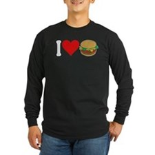 I Love Hamburgers (design) T
