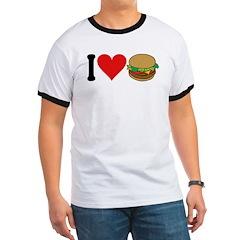 I Love Hamburgers (design) T
