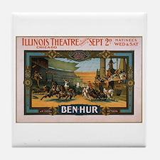 Ben Hur 1901 Tile Coaster