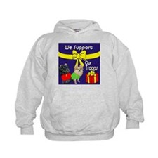 We Support Our Troops Hoodie