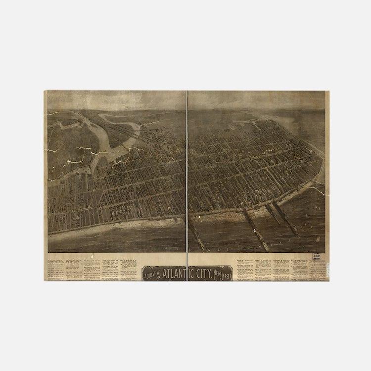 Atlantic City, NJ.1909. Antiq Magnets
