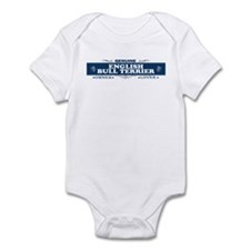 ENGLISH BULL TERRIER Infant Bodysuit