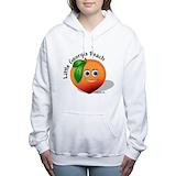 Georgia peach Hooded Sweatshirt