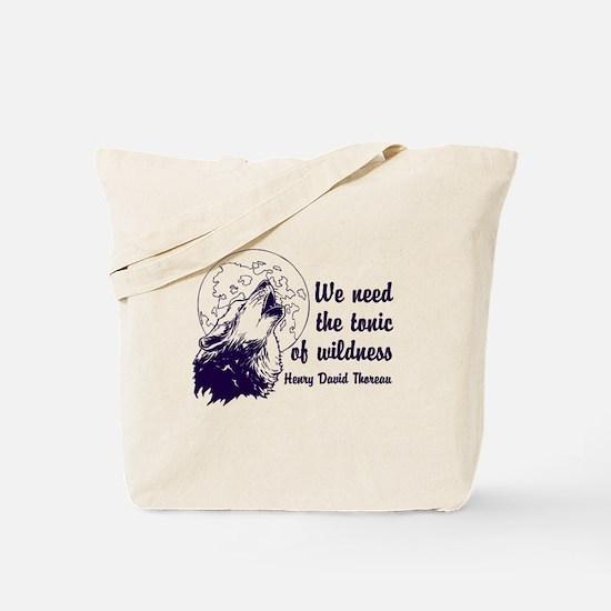 Wild Tonic Tote Bag