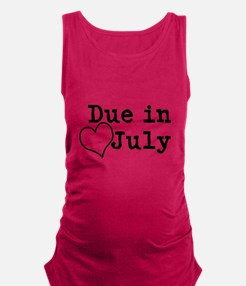 Due In July Tank Top