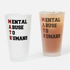 Unique Abuse Drinking Glass