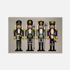 Nutcrackers in Asexual Colors Rectangle Magnet