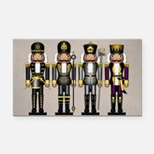 Nutcrackers in Asexual Colors Rectangle Car Magnet