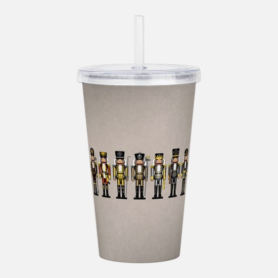 Nutcrackers in Bear Co Acrylic Double-wall Tumbler