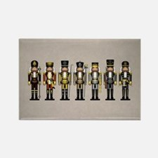 Nutcrackers in Bear Colors Rectangle Magnet