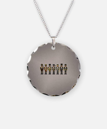 Nutcrackers in Bear Colors Necklace