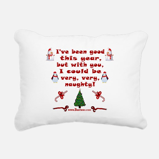 i have been good but Rectangular Canvas Pillow