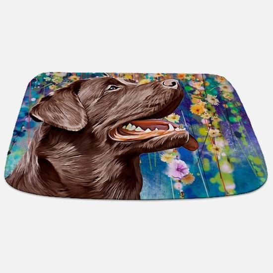 Labrador Painting Bathmat