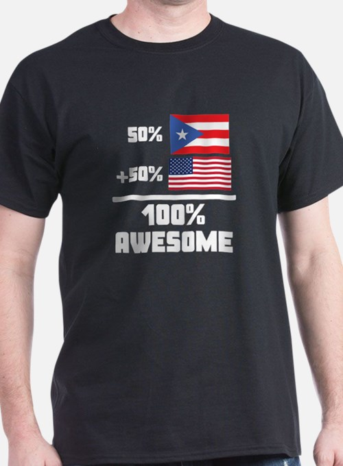 Awesome Puerto Rican American T-Shirt