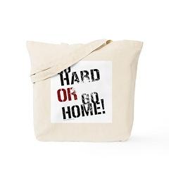 GO HARD Tote Bag