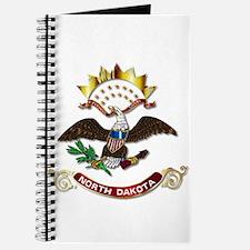 North Dakota Flag Icon Journal