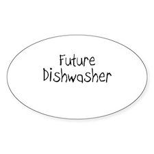 Future Dishwasher Oval Decal