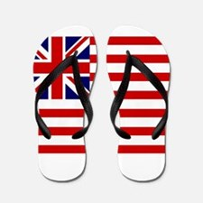United States Grand Union Flag Flip Flops