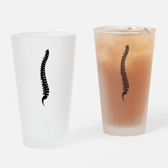 Backbone Spine Drinking Glass