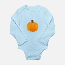 Applique Pumpkin Body Suit