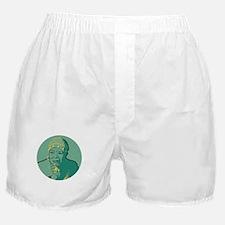 Maya Angelou circle Boxer Shorts