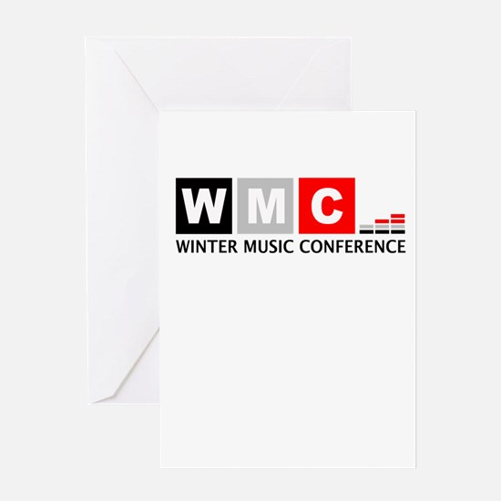 WMC Winter Music Conference Greeting Cards