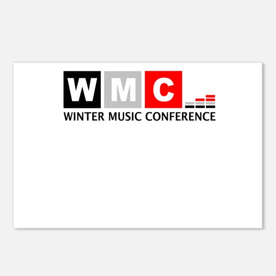 WMC Winter Music Conference Postcards (Package of