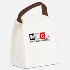 WMC Winter Music Conference Canvas Lunch Bag