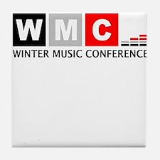 WMC Winter Music Conference Tile Coaster