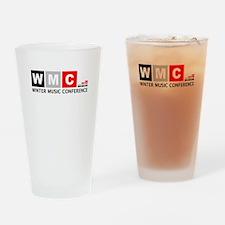 WMC Winter Music Conference Drinking Glass