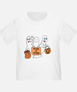 Cute Ghosts - Trick or Treat T-Shirt