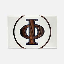 Phi Greek Letter Magnets