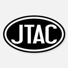 U.S. Air Force: JTAC Oval (Black & Sticker (Oval)