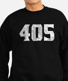 405 Oklahoma City Area Code Sweatshirt