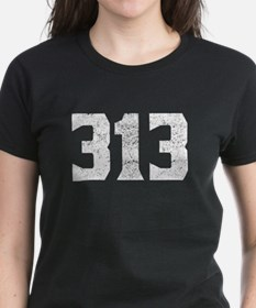 313 Detroit Area Code T-Shirt