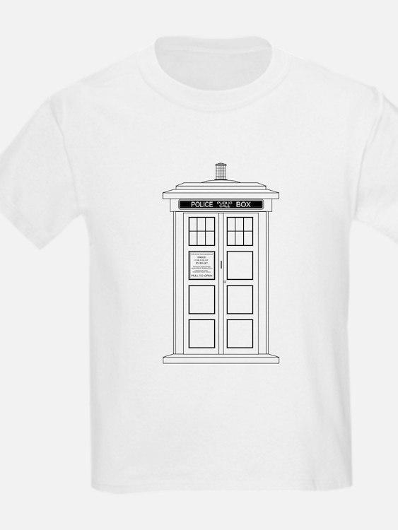 Old Fashioned British Police Box T-Shirt